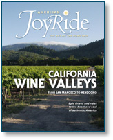 American Joyride magazine. Perfecting the Art of the American Road trip.